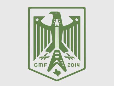 Goldthwaite Music Festival 2014 gmf goldthwaite music festival eagle music rock logo seal