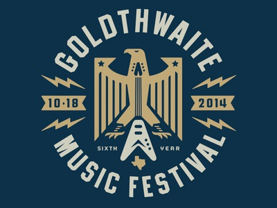 Goldthwaiteshirt2 logo eagle gmf goldthwaite music rock seal festival