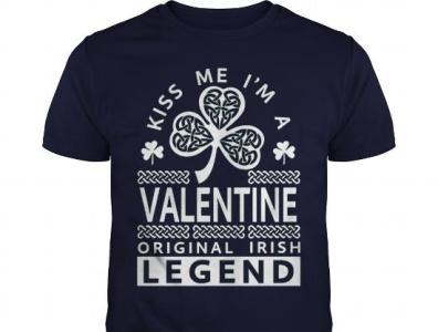 Kiss Me Im A Valentine Legend teeshirt21 newyear valentine day valentines