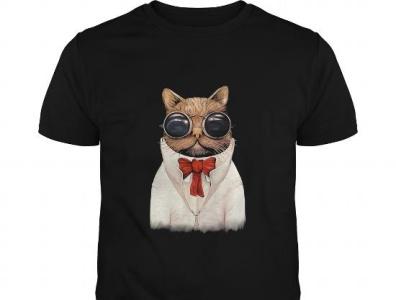 Astro Cat Funny Cat   Guys Tee cat teeshirt21 tshirts funny tshirt