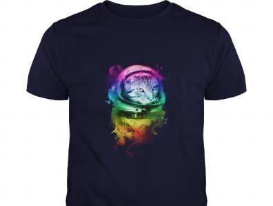 Astro Cat tshirt art tshirt design teeshirt21 tshirtshop tshirts