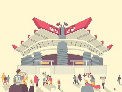 SAN SIRO STADIUM meazza architecture match football inter milan stadiom san siro