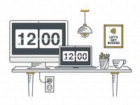 Buzzdesk Illustration
