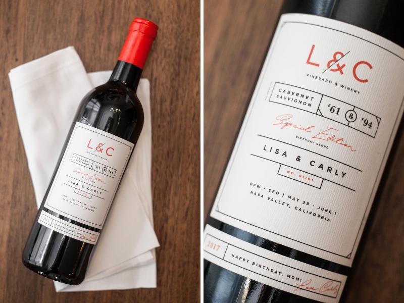 Wine Bottle Label Design By Carly Tobias Dribbble Dribbble