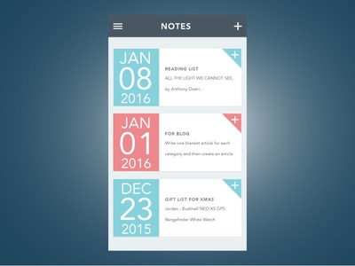 Notes App notes ui user interface app