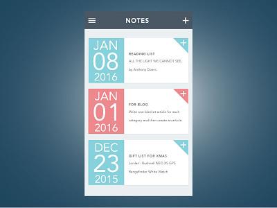 Notes App notes ui user interface app