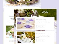 Walk in the Wildflowers Blog Template