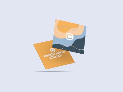 Celebration Concept 1 card sign vibrant business shirt yellow font typography love vector logo icon church illustrator design identity branding brand