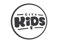 City Kids Logo B&W
