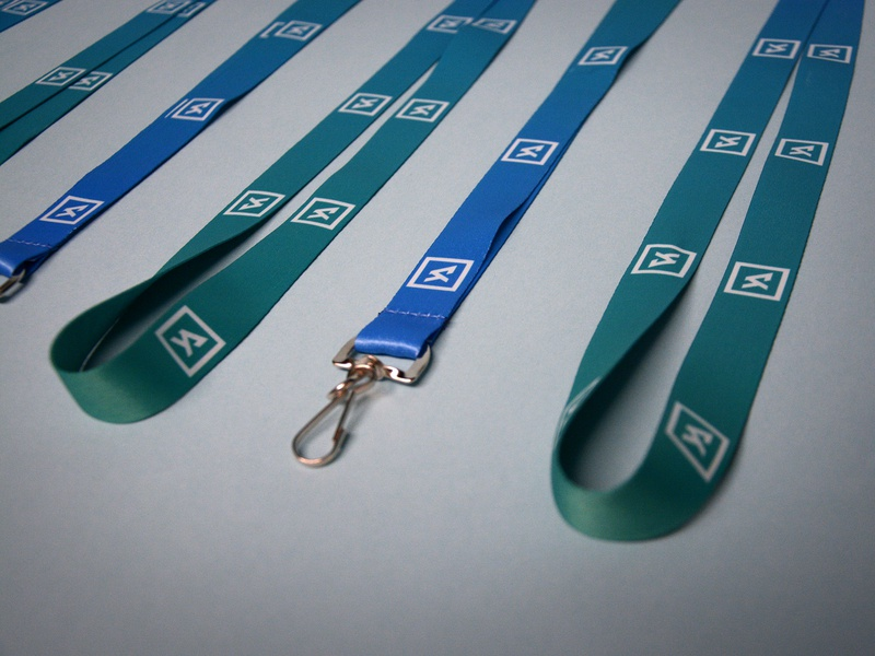 YA Lanyards mint gradient group box chain sport square adult young turquoise blue vector love logo icon design identity branding brand church