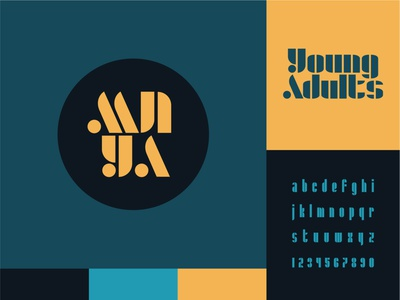 Minnesota Young Adults 1 college youth typography vector logo icon church illustrator design identity branding brand