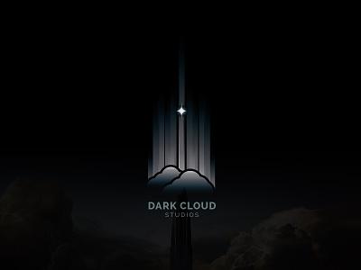 Logo design for film studio dark cloud sci-fi futuristic modern new creative logo design movie studio film simple