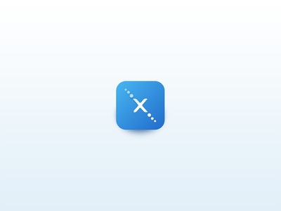 Icon design for Telemax creative shadow simple apple ios android application icon app icon icon