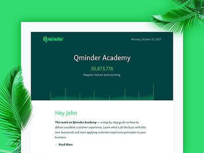 Newsletter ux ui web graph eco design email newsletter startup tech green