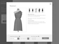 Wireframe - Pick Dress