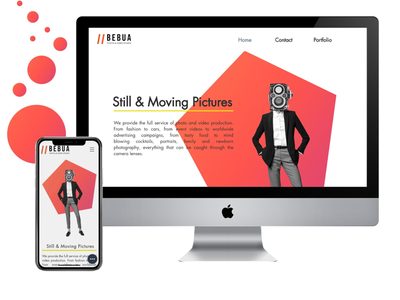 Bebua Studio Web / mobile design digital design uiux ux ui mobile design web design mobile web