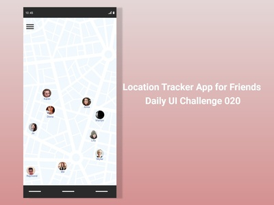 Location Tracker - DailyUi020
