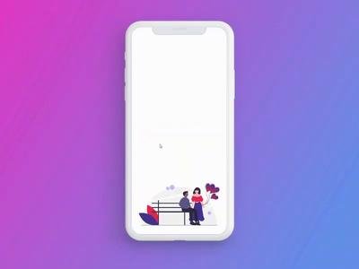 Valentines App Concept design mobile app design mobile app concept app design valentine day uxui design uxuidesign ux design uidesign uiux uxui ux ui