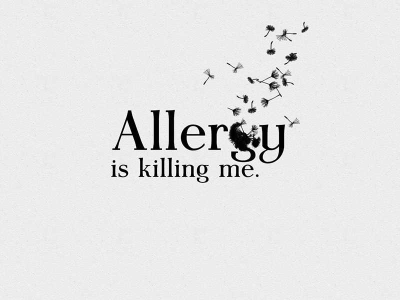 allergy is killing me by michal kosecki dribbble dribbble