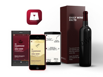 Daily Wine Facts - mobile apps
