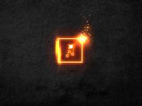 PlaceChallenge burning logo