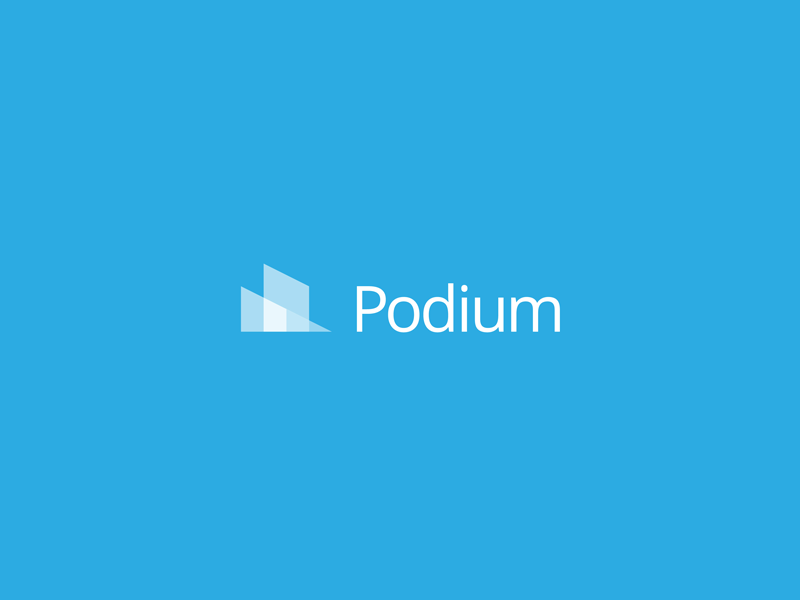 Podium (1 of 5) suite sub-brand logo design corporate identity brand identity branding