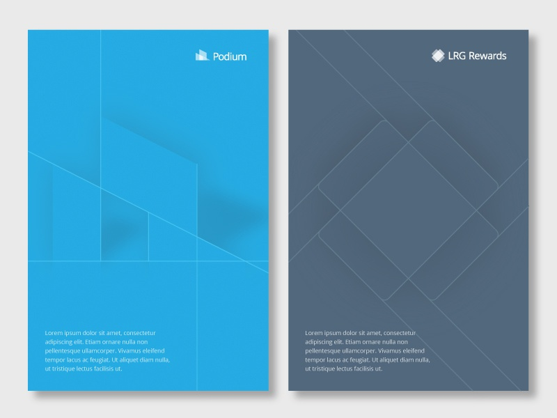 Alternate Poster Concept A brand identity branding collection poster