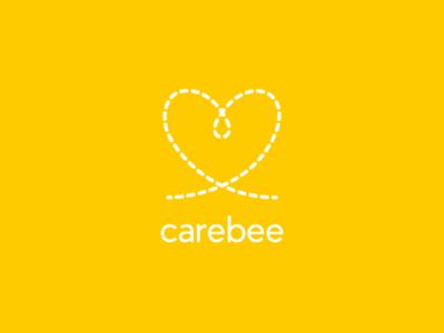 Carebee Logo Inverse