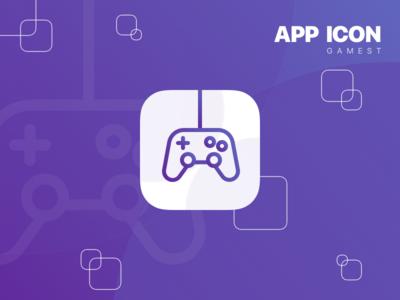 DailyUI #005 - App Icon challenge design dailyui purple game icon app appicon
