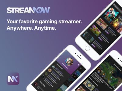 Streamow | Gaming Streamer App streamow streamer streaming gaming game iphone app