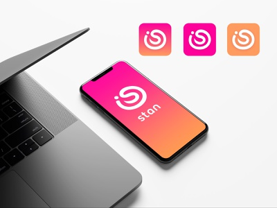 Stan icon colorful logotype logo branding icons gradient app gradient color design splash page splashscreen icon design icon app icon app