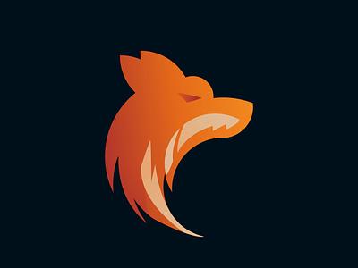A Wolf Logos logo character animal branding wolf logo wolf vector minimalist illustration logotype logo design company brand identity