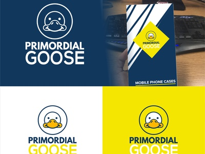 Goose Logos vector accessories goose character logo minimalist clean modern illustration logo design company brand identity