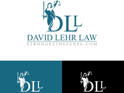 Strongest Attorney defense law firm attorney  law strong attorney minimalist business clean modern lawyer logo design company brand identity