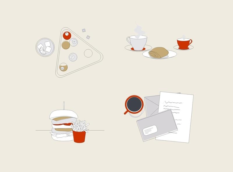 Estate Agents Illustration Designs line illustration design property marketing marketing agency illustrator illustration design illustration agency illustration