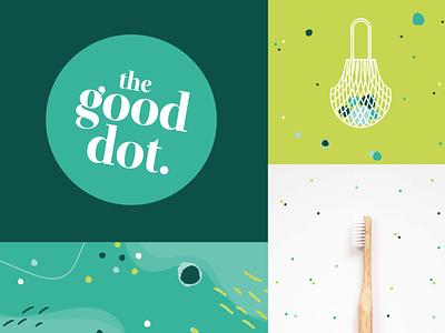 The Good Dot Brand eco friendly logodesign logos logotype logo design branding design brand identity brand design brand package design packaging design packaging illustration marketing agency logo branding design
