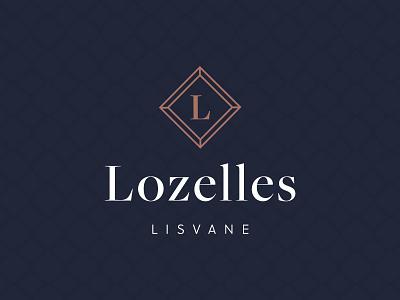 Lozelles Brand Design brand brand design logotype logo design luxury logo property marketing property marketing illustrator logo mark luxury logo branding design