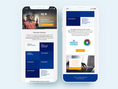 Mailing Design - JJC Group