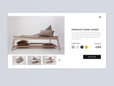 Daily UI #12 singleproduct furniture product website ux ui interface ecommerce dailyui challenge 12 012