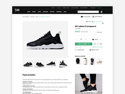 5M Fencing Detail sport explore shop minimal shoes nike product detail clean eshop ecommerce