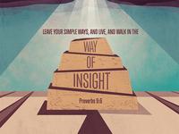 Proverbs 9:6