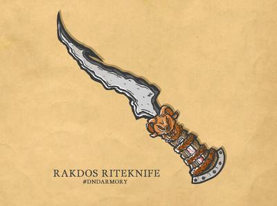 D&D Armory 002 - Rakdos Riteknife