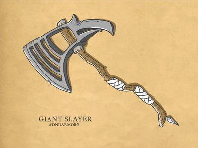 D&DArmory 001 -  Giant Slayer