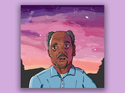 Chance the Rapper - Geriatric Rap illustration albumart weeklywarmup hiphop