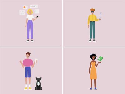 what is your super-power? ✨ illustrator website flat design minimal vector illustration