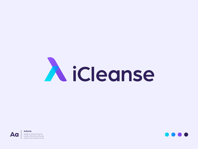 iCleanse 829 studios logo animation shopify minimal clean technology tech branding design logo design logo branding site ecommerce site ecommerce website ui ux ux ui