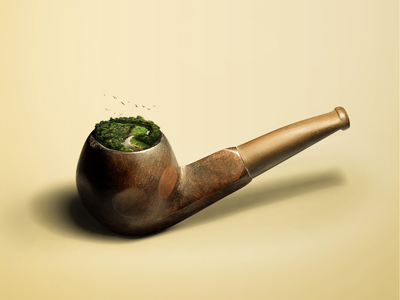 Ceci n'est pas une pipe | This is not a pipe