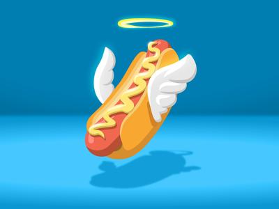 Holy Hot Dog / Santo Pancho 🙏🏼 😅