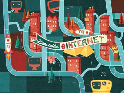 Bienvenida a la Internet