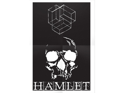 Hamlet - Theater poster